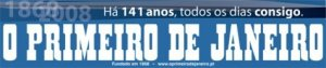 Logotipo do jornal O Primeiro de Janeiro