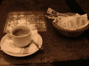 cafe sepia