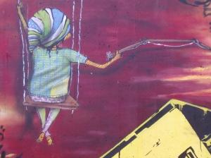 100 mural