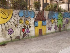 casa e casal graffiti